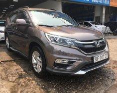 Cần bán lại xe Honda CR V 2.0AT sản xuất năm 2016, màu nâu, giá tốt giá 810 triệu tại Hà Nội