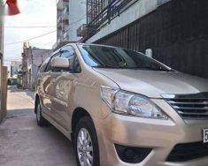 Bán xe Toyota Innova E đời 2012, màu vàng cát giá 495 triệu tại Tp.HCM