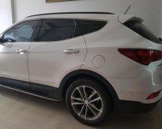 Bán Hyundai Santa Fe CRDi năm sản xuất 2017, màu trắng, giá 995tr giá 995 triệu tại Tp.HCM