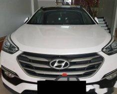 Bán Hyundai Santa Fe CRDi đời 2017, màu trắng giá 995 triệu tại Tp.HCM
