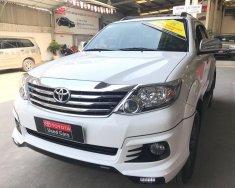 Cần bán xe Toyota Fortuner TRD V 4X2 năm sản xuất 2015, màu trắng, hỗ trợ giá tốt giá 950 triệu tại Tp.HCM