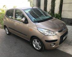 Bán Hyundai i10 1.2 AT 2010, màu vàng cát, xe nhập, giá tốt giá 280 triệu tại Tp.HCM