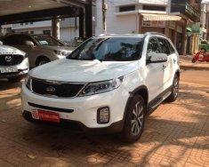 Bán ô tô Kia Sorento DMT 2.2L 2WD năm sản xuất 2014, màu trắng giá 670 triệu tại Đắk Lắk