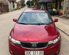 Bán Kia Cerato 2009, màu đỏ, nhập khẩu giá 385 triệu tại Hà Nội