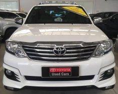 Bán xe Toyota Fortuner V 4x2 TRD sản xuất năm 2015, màu trắng, giá cạnh tranh giá 950 triệu tại Tp.HCM