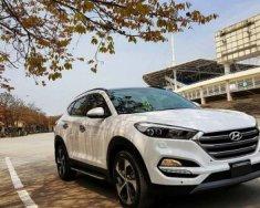 Cần bán xe Hyundai Tucson 1.6 AT năm 2017, màu trắng giá 910 triệu tại Hà Nội