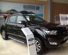 Cần bán Ford Ranger 2.2L AT 4x2 Wildtrak sản xuất 2018, màu đen, nhập khẩu giá 815 triệu tại Hà Nội