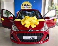 Bán ô tô Hyundai Grand i10 1.2 AT sản xuất năm 2018, màu đỏ giá 395 triệu tại Hà Nội