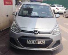 Bán ô tô Hyundai Grand i10 MT sản xuất năm 2016, màu bạc, 350tr giá 350 triệu tại Hà Nội