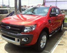 Bán Ford Ranger 3.2L AT 4x4 Wildtrak đời 2018, màu đỏ, nhập khẩu nguyên chiếc giá 900 triệu tại Hà Nội