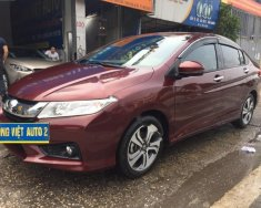 Cần bán gấp Honda City 1.5 AT 2017, màu đỏ số tự động giá 555 triệu tại Hà Nội