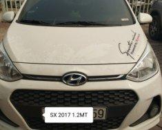 Bán xe Hyundai Grand i10 1.2 MT năm sản xuất 2017, màu trắng số sàn giá 375 triệu tại Hà Nội