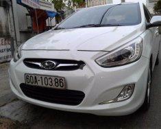 Chính chủ bán Hyundai Accent 1.4MT đời 2013, màu trắng, xe nhập giá 389 triệu tại Đồng Nai