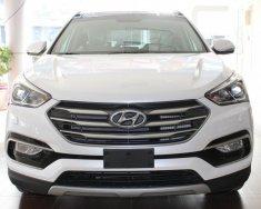 Bán Hyundai Santa Fe sản xuất năm 2018, màu trắng giá 1 tỷ 40 tr tại Tp.HCM