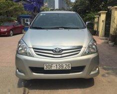 Bán Toyota Innova 2.0 G năm sản xuất 2011, màu bạc chính chủ giá 408 triệu tại Hà Nội