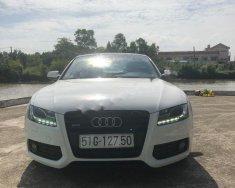 Cần bán Audi A5 S-line 2.0 năm 2010, màu trắng, xe nhập giá 980 triệu tại Vĩnh Long