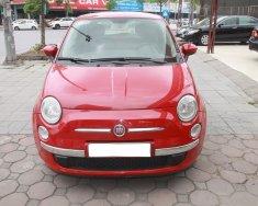FIAT 500 màu đỏ, số tự động, máy xăng, sản xuất 2009 đăng ký 2011 giá 460 triệu tại Hà Nội