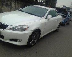 Bán Lexus IS 250C năm 2009, màu trắng, nhập khẩu   giá 1 tỷ 175 tr tại Hà Nội