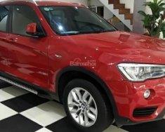 Cần bán xe BMW X3 năm 2016, màu đỏ, nhập khẩu nguyên chiếc chính chủ giá 1 tỷ 710 tr tại Hà Nội