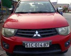 Cần bán gấp Mitsubishi Triton đời 2010, màu đỏ giá 260 triệu tại Tp.HCM