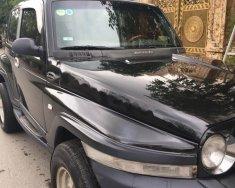 Bán xe Ssangyong Korando sản xuất năm 2004, màu đen, nhập khẩu chính chủ giá 146 triệu tại Hà Nội