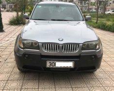 Bán BMW X3 2.5 AT đời 2004, màu bạc, nhập khẩu  giá 345 triệu tại Hà Nội