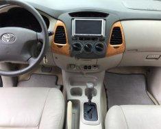 Cần bán xe Toyota Innova V 2.0AT năm sản xuất 2008, màu bạc, giá tốt giá 405 triệu tại Hà Nội