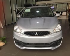 Cần bán xe Mitsubishi Mirage MT năm 2017, màu bạc, nhập khẩu nguyên chiếc giá 340 triệu tại Hà Nội