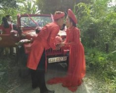 Bán xe Jeep CJ 5 đời 1980, màu đỏ, xe nhập chính chủ giá 155 triệu tại Vĩnh Long