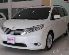Bán Toyota Sienna sản xuất 2015, màu trắng, nhập khẩu xe gia đình giá 3 tỷ 250 tr tại Tp.HCM
