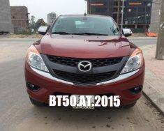 Bán Mazda BT50 2.2L, nhập Thái Lan, SX: Cuối 2015 BS: 29C, số tự động, màu đỏ đun giá 518 triệu tại Hà Nội