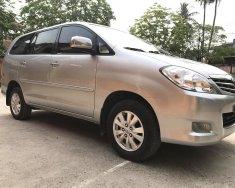 Cần bán xe Toyota Innova 2.0 G đời 2011, màu bạc giá 455 triệu tại Hà Nội