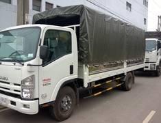 Bán xe tải ISUZU , xe tải thùng bạt 3t5 ISUZU , xe tải 3t5 thùng kín giá 341 triệu tại Cả nước