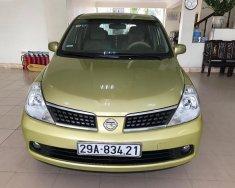 Cần bán gấp Nissan Tiida 1.6 AT sản xuất năm 2007, màu vàng, nhập khẩu Nhật Bản giá 300 triệu tại Hà Nội