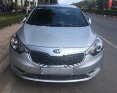 Cần bán lại xe Kia K3 1.6AT đời 2013, màu bạc giá 495 triệu tại Khánh Hòa