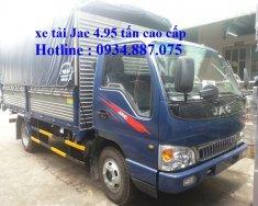 Bán xe tải Jac 5 tấn (5T), thùng dài 4.35m, công nghệ Isuzu giá 455 triệu tại Tp.HCM
