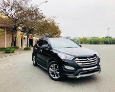 Bán xe Hyundai Santa Fe 2.4L 4WD sản xuất năm 2014, màu đen, xe nhập, giá chỉ 940 triệu giá 940 triệu tại Hà Nội