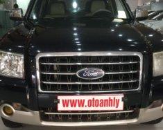 Cần bán gấp Ford Everest 2.5MT đời 2007, màu đen giá 375 triệu tại Phú Thọ