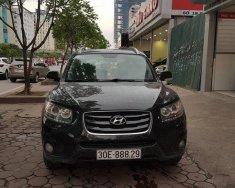 Cần bán xe Hyundai Santa Fe SLX eGVT 2010, màu đen, biển HN rất mới giá 680 triệu tại Hà Nội