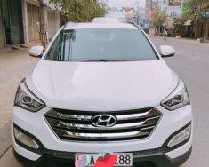 Bán Hyundai Santa Fe 2.4 2014, màu trắng, nhập khẩu giá 880 triệu tại Hà Nội