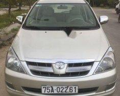 Cần bán gấp Toyota Innova sản xuất 2008, màu ghi vàng  giá 385 triệu tại TT - Huế