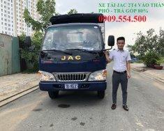 Bán xe tải Jac 2,4 tấn vào thành phố, trả trước 60tr có xe ngay giá Giá thỏa thuận tại Tp.HCM