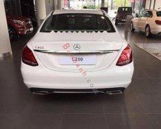 Bán Mercedes C200 năm 2018, màu trắng giá 1 tỷ 489 tr tại Tp.HCM