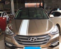 Cần bán Hyundai Santa Fe 2.2AT 4WD 2016, màu nâu giá 1 tỷ 46 tr tại Tp.HCM