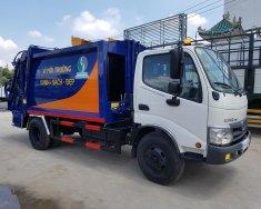 Bán trả góp xe ép rác Hino 6 khối giá 940 triệu tại Bình Dương