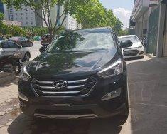 Cần bán xe Hyundai Santa Fe 2.4L đời 2015, màu đen, như mới, giá tốt giá 945 triệu tại Hà Nội