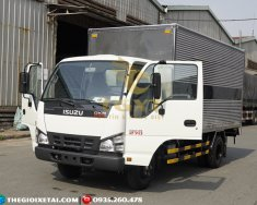 Bán trả góp Xe tải Isuzu 1T9–1 tấn 9–1900kg thùng dài 4m3—Isuzu thùng mui bạt / thùng lửng / kín giá 535 triệu tại Bình Dương
