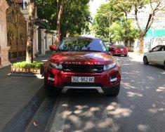 Bán LandRover Evoque sản xuất 2014, màu đỏ, nhập khẩu nguyên chiếc giá 1 tỷ 790 tr tại Hà Nội