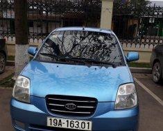 Bán ô tô Kia Morning LX 1.0 MT sản xuất 2007, màu xanh lam, xe nhập giá 145 triệu tại Phú Thọ