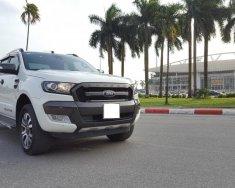 Cần bán Ranger Wildtrak 3.2 màu trắng 2017 giá 868 triệu tại Hà Nội